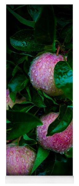 Apples After The Rain Yoga Mat