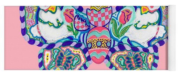 April Butterfly Yoga Mat