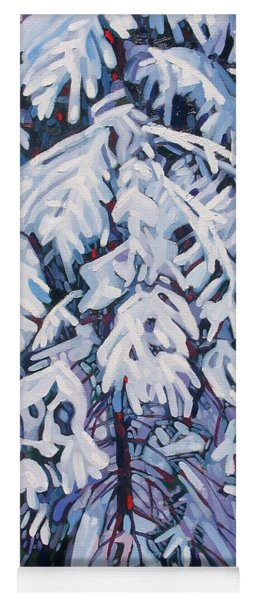 April Snow Yoga Mat