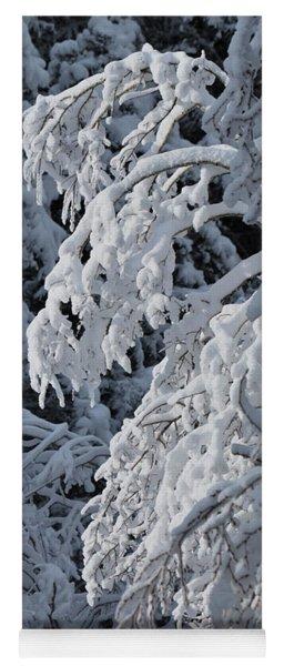 April Snow Yoga Mat