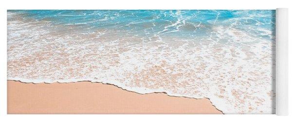 Aquamarine Island Beach Yoga Mat