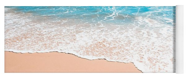 Aquamarine Island Beach Yoga Mat