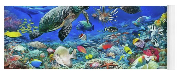Aquarium Yoga Mat