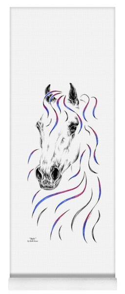 Arabian Horse Style Yoga Mat