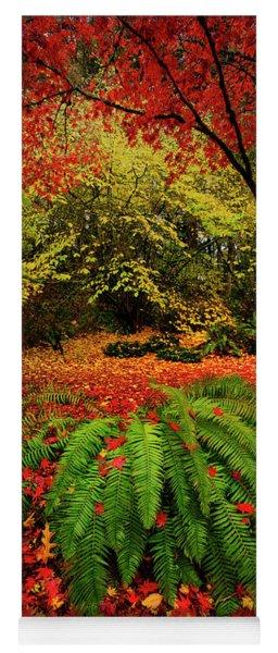Arboretum Primary Colors Yoga Mat