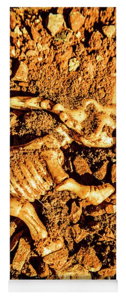 Archaeology Dig Yoga Mat