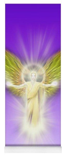 Archangel Gabriel - Pastel Yoga Mat