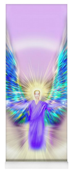 Archangel Michael - Pastel Yoga Mat