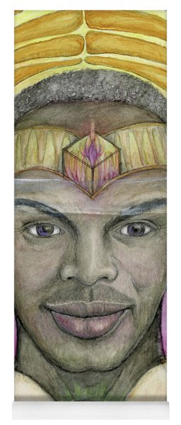 Archangel Raphael Yoga Mat