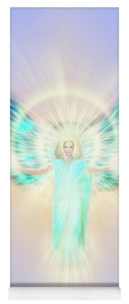 Archangel Uriel - Pastel Yoga Mat