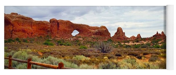 Arches National Park Yoga Mat