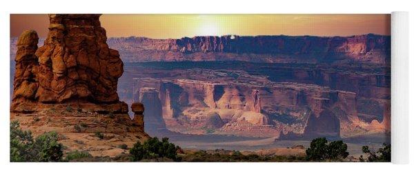 Arches National Park Canyon Yoga Mat