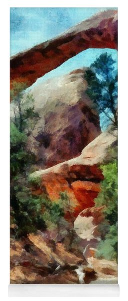 Arches National Park Trail Yoga Mat