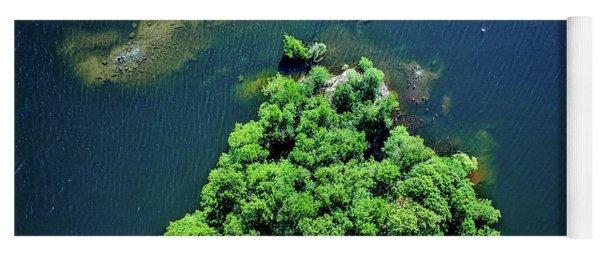 Archipelago Island - Aerial Photography Yoga Mat