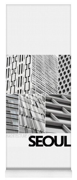 Architecture Of Seoul Yoga Mat