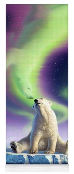 Arctic Kiss Yoga Mat