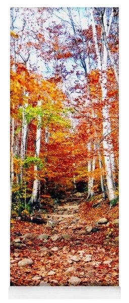 Arethusa Falls Trail Yoga Mat