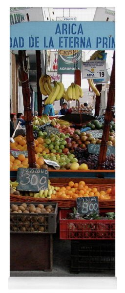 Arica Chile Fruit Stand Yoga Mat