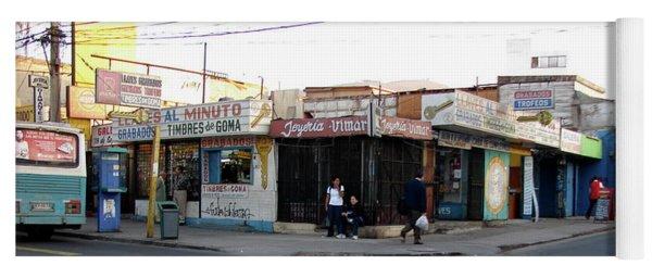 Arica Chile Street Corner Yoga Mat