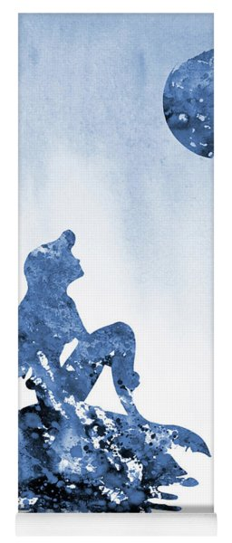 Ariel Mermaid Princess-blue Yoga Mat