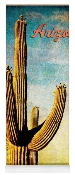 Arizona Saguaro Yoga Mat