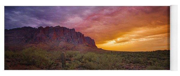 Arizona Sunset Yoga Mat