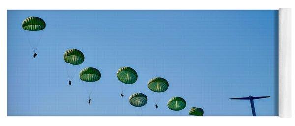 Army Rangers Jumping Yoga Mat