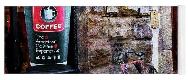 Arnold Coffee Bicycle Yoga Mat