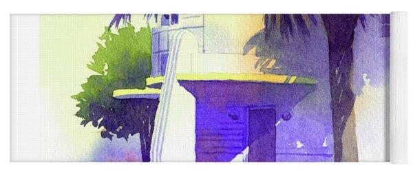 Art Deco Hotel Miami Yoga Mat