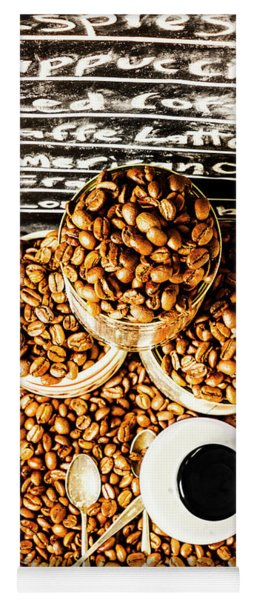 Art In Commercial Coffee Yoga Mat