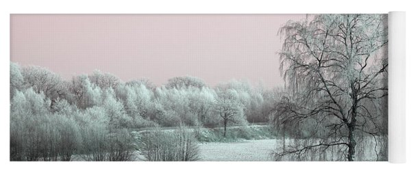 Art Print Winterland 11 Yoga Mat