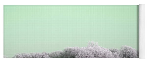 Art Print Winterland 13 Yoga Mat