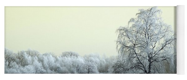 Art Print Winterland 14 Yoga Mat