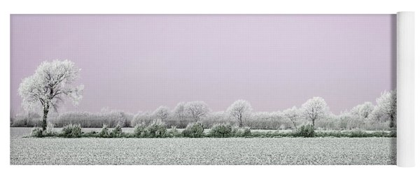 Art Print Winterland 18 Yoga Mat