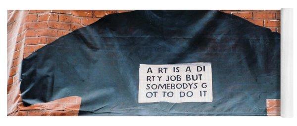 Art Shirt Yoga Mat