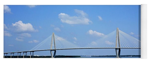 Arthur Ravenel Jr. Bridge - Charleston Yoga Mat