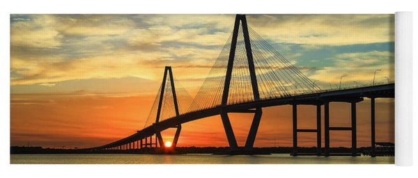 Arthur Ravenel Jr. Bridge - Charleston Sc Yoga Mat