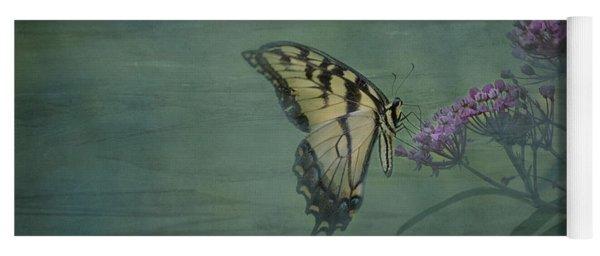 Artistic Eastern Tiger Swallowtail 2017-1 Yoga Mat