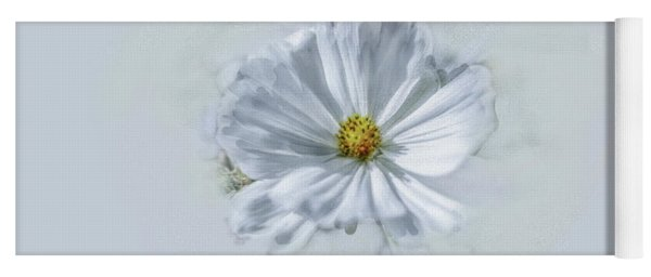 Artistic White #g1 Yoga Mat