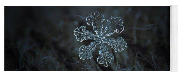 Snowflake Photo - Vega Yoga Mat
