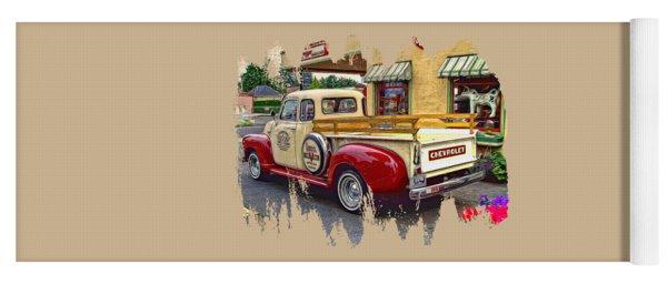 1949 Chevy Truck Yoga Mat
