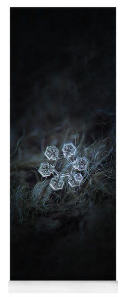 Yoga Mat featuring the photograph Icy Jewel by Alexey Kljatov