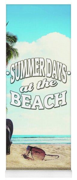 Summer Days Yoga Mat