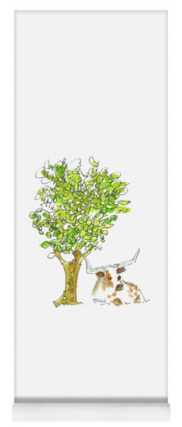 A Texas Welcome Texas Longhorn Lh005 Yoga Mat