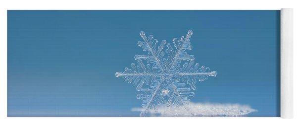 Snowflake Photo - Cloud Number Nine Yoga Mat