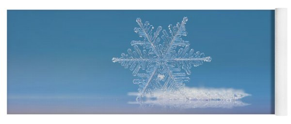 Snowflake Photo - Cloud Number Nine Yoga Mat