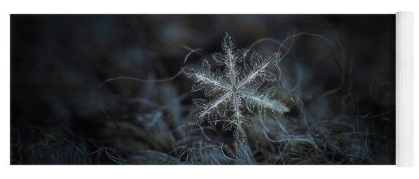 Leaves Of Ice Yoga Mat