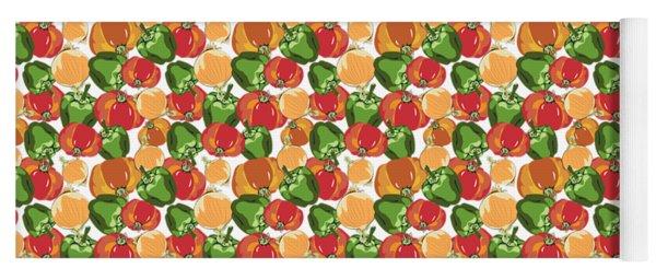 Tomato Sauce Ingredients Yoga Mat