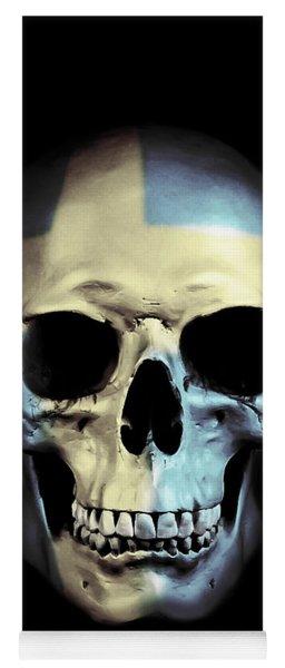 Swedish Skull Yoga Mat