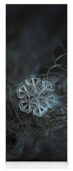 Snowflake Photo - Alcor Yoga Mat